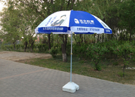 Outdoor Advertising Portable Beach Parasol Umbrellas With Heat Transfer Printing