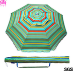 Professional UV Protection Outdoor Parasol Umbrella With Carbon Steel Ribs