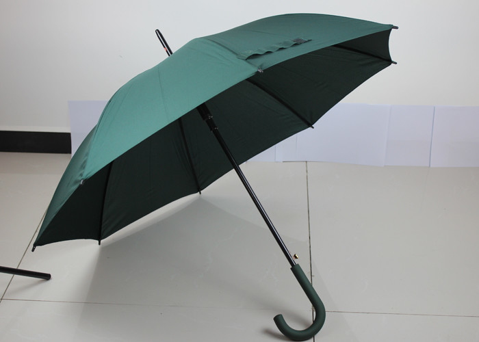 Strong Sturdy Folding Rain Umbrellas With Black Steel Ribs , Digital Printing