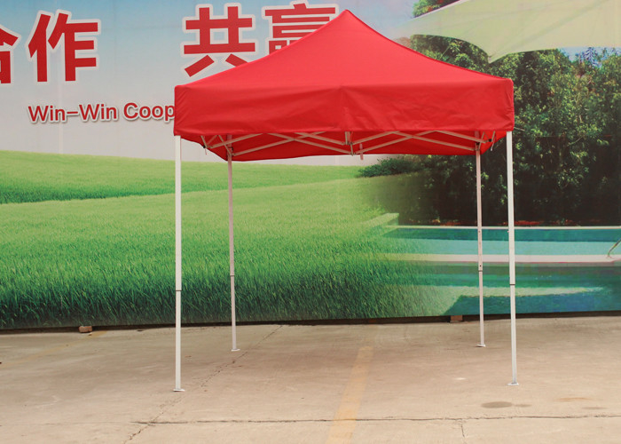 Custom Printed 10x10 Pop Up Canopy Tent With Cold Roll Steel Frame , 600D Oxford Fabric