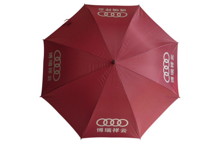 Custom Logo Printing Compact Golf Umbrella , Lightweight Golf Umbrella For Shop