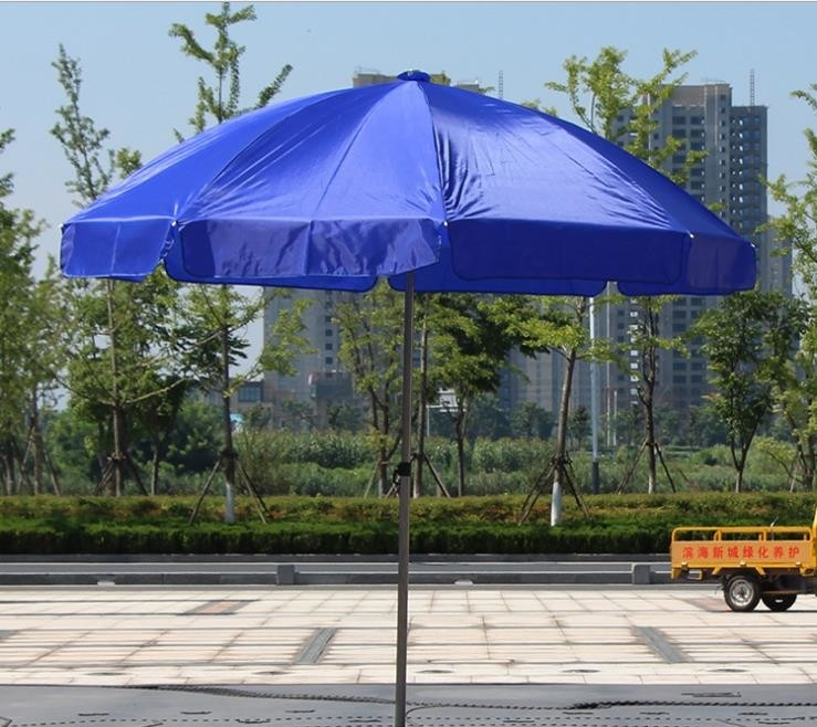Promotion Advertising 190T Polyester Parasol Sun Beach Umbrella